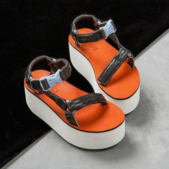 95c2db3e448b24 Limited edition!!! Nasty gal X Teva platform shoes. NWT. Teva.  M 5b8b6b9e534ef90151461057. M 5b8b6ba0035cf19dab64e48b.  M 5b8b6badaa8770a86bec9ea7